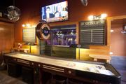 Games are a featured activity at Drake's, including darts and shuffleboard.