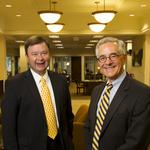 A leadership change at one of St. Louis' oldest banks