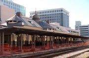 Renovations are still under way at the Church Street SunRail station.