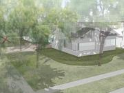An artist's rendering of the new cafe planned for the Menil Collection's campus