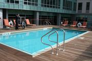 The sixth floor outdoor pool at the Kensington in Boston.