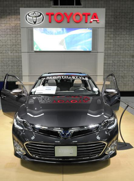 All of the Toyota's Kentucky-made vehicles — the Camry, Avalon and Venza —saw declining sales this month.