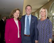 Jeannie Reeves, Financial Network advisor, Robert Daly and Denise DeGroff, President of Reliant Testing Engineers, pose at the Metro Chamber's Perspectives on Winning event.