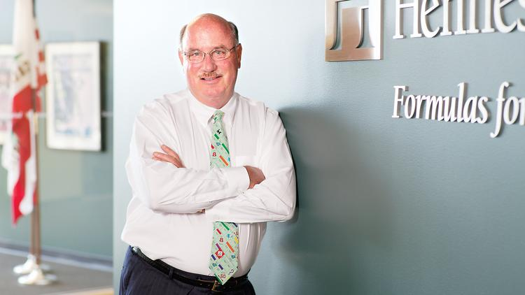 Niel Hennessy, chairman and CEO of Novato-based Hennessy Advisors has seen dramatic growth since the firm's purchase of FBR Funds in October 2012. The firm's assets under management recently crossed over $5 billion.