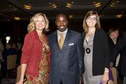 Weave executive director Beth Hassett, California Urban Partnership CEO Malaki Seku-Amen and SARTA CEO Meg Arnold pose at the Metro Chamber's Perspectives on Winning event.