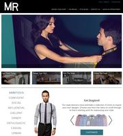 Men can design their own shirts on manuelracim.com, or use a combination of technology and in-store consultation to create new wardrobes.