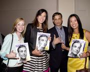 Intel education manager Jessica Von Schell, Intel community engagement manager Anna Ballard and Intel California communications manager pose with Kings majority owner Vivek Ranadive at the Sacramento Metro Chamber's Perspectives on Winning event.