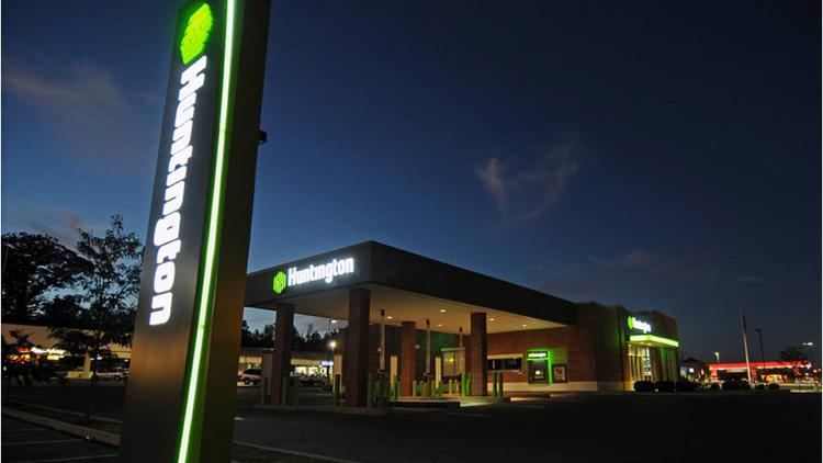 Huntington Bank's cutbacks will be made across the company's six-state network.