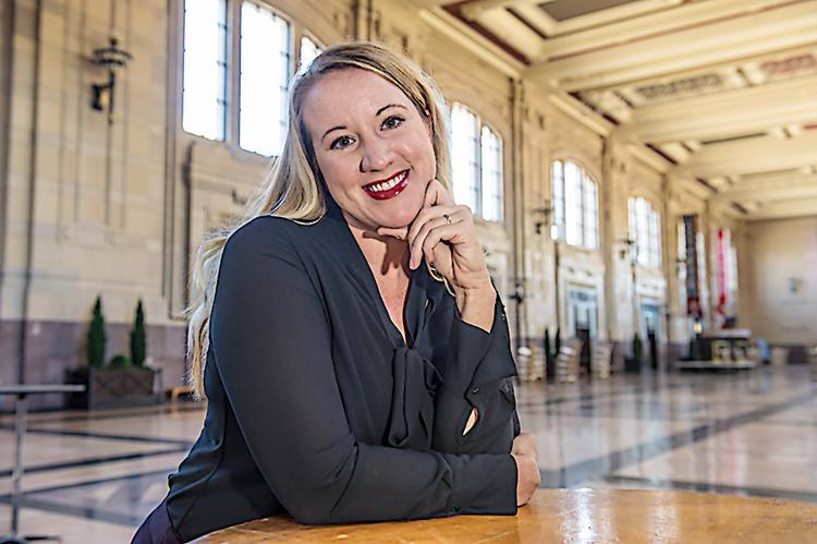 Rachael Qualls, chairwoman and founder of Angel Capital Group and CEO of Venture360 LLC, says she is happy to be back in Kansas City after a decade in Nashville.