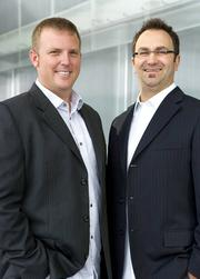 Aaron Wallace, left, and Todd Alles Jr. of Marketing Activations Group.
