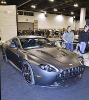 The Aston Martin Vantage Coupe at the Denver Auto Show.