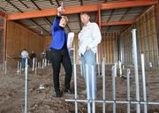 Jeanie Springer-Knight, left, and Eric Springer of Springer5 Investments are working on projects including Unser Pavilion.