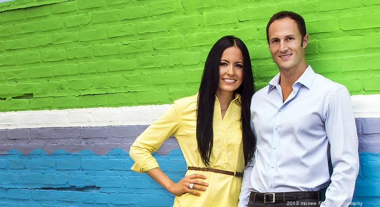 Scott Weaver and Jessica St. John, co-owners of Urban Leasing & Realty
