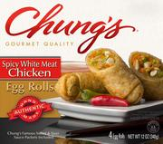 Chung's Gourmet Foods Enjoys frozen Asian-inspired snack foods