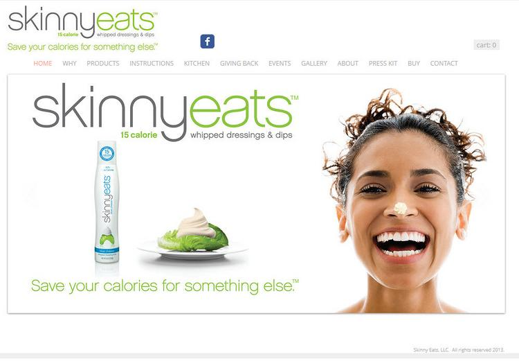 SkinnyEats sells its salad dressing online as well as in NYC-area retail locations.