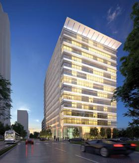 Skanska USA Commercial Development sold its recently built 3009 Post Oak to an investment group for $112 million.