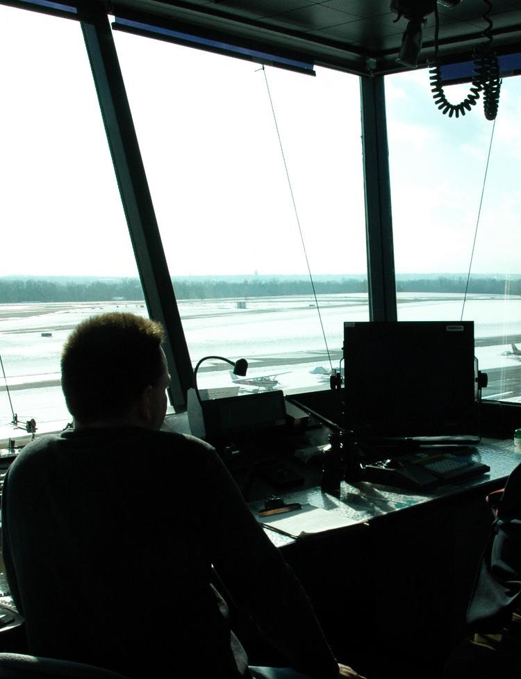 Commercial air travel has been mostly running smoothly since the Federal Aviation Administration began operating with fewer air traffic controllers Sunday because of furloughs.