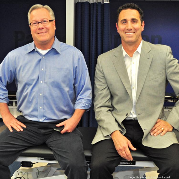 (L to R) Airrosti Rehab Centers' Kelly Green and Sean Tipton believe the company is well-positioned for the roll-out of the Affordable Care Act.