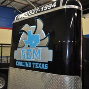 Some of the equipment that GEM Cooling sells to oilfield companies.
