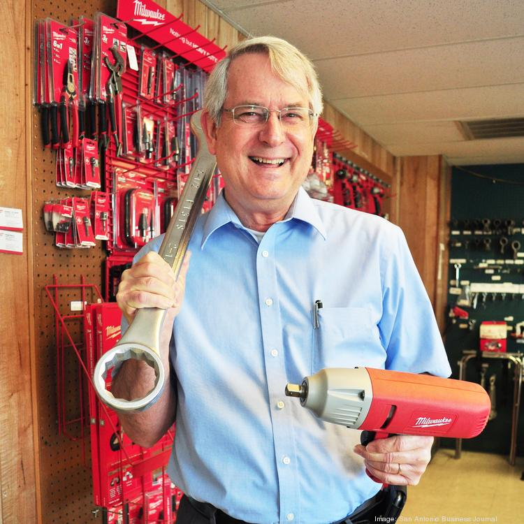 FastServ Supply Manager Larry Hendrick says oilfield clients are looking for safety equipment and specialty fasteners.