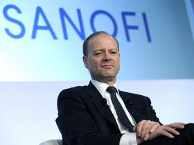 Chris Viehbacher, chief executive officer of Sanofi, pauses during a news conference in Paris, France, on February 8, 2012.