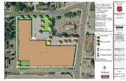 There are three buildings on the site now that the Salvation Army would raze to make room for its proposed 95,700 square foot live-work facility.