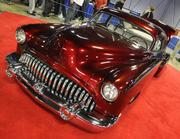 Alex King owns this 1950 Chevrolet Fleetline. It was one of many vehicles featured at the 63rd Sacramento Autorama at Cal Expo.
