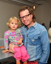 CoCo member Chris Berger brought his daughter, Grace, to the opening. Berger is principal at PR/marketing firm Berger Brands.