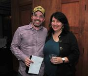 Marcus Genzlinger, president of the Uptown Association, and Susan Campion, founder of Giant Steps