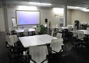 A large meeting space