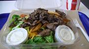 Philly steak salad at Wicked 'Wich.