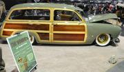 Gary Pettigrew brought his 1951 Ford Woodie to the 63rd Sacramento Autorama at Cal Expo.