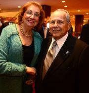 Liane Levetan, former DeKalb County CEO and Sam Massell, past Four Pillar award honoree.