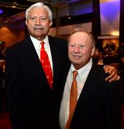 R. K. Sehgal and John Williams, past Four Pillar honoree.