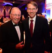 Charles Brown, Chairman and CEO CRB Realty Associates, Inc. and Jim Borders, president and CEO of The Novare Group.