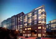 Night rendering of 460 New York Ave. NW, from the Bozzuto Group and now, NV Commercial