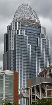 No. 1: Great American Tower at Queen City Square Rentable space: 805,000 Available space: 78,260
