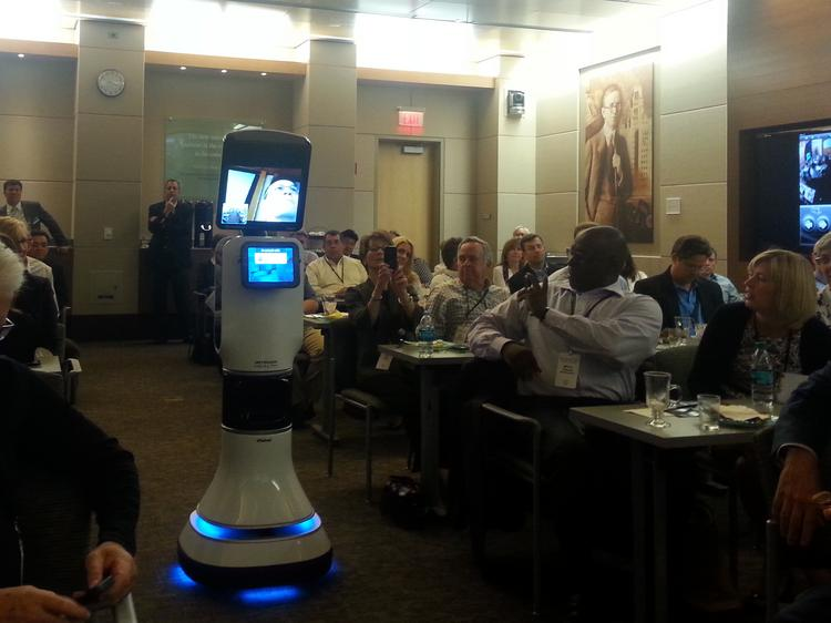 The 12th annual InterCity Leadership Visit sponsored by chambers of commerce in Minneapolis and St. Paul was in Phoenix. The visit included a trip to Mayo Clinic's Phoenix-area facility and a demonstration of a medical robot doctor.