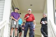 CBJ Seen: Bill Murray (center), vice president of the national Toys for Tots Foundation, welcomes golfers. Pictured with Phil Chub (left) of title sponsor Shumaker, Loop & Kendrick; and Mike Knaub with SSI Schaefer Systems International. Want to see your events included? Send photos and caption info to aangel@bizjournals.com.