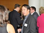 Sam Shieh of InnoMark Communications networks with other attendees at the 2013 DBJ Manufacturing Awards Event at the Schuster Center.