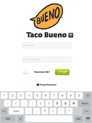 Taco Bueno installed the back-of-the-store Proxomo app in 178 corporate stores, at which each manager will use an iPad to access the system.