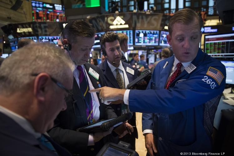 Stocks opened lower Monday morning, but it wasn't a steep plunge. That could change if Congress doesn't reach a deal by Thursday to raise the federal government's debt ceiling.