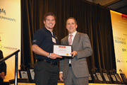 Ryan Graven of Matrix Network in the 5-99 employee category.