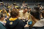 Thousands pack Charles Koch Arena for Wichita State Shocker welcome home (Video)
