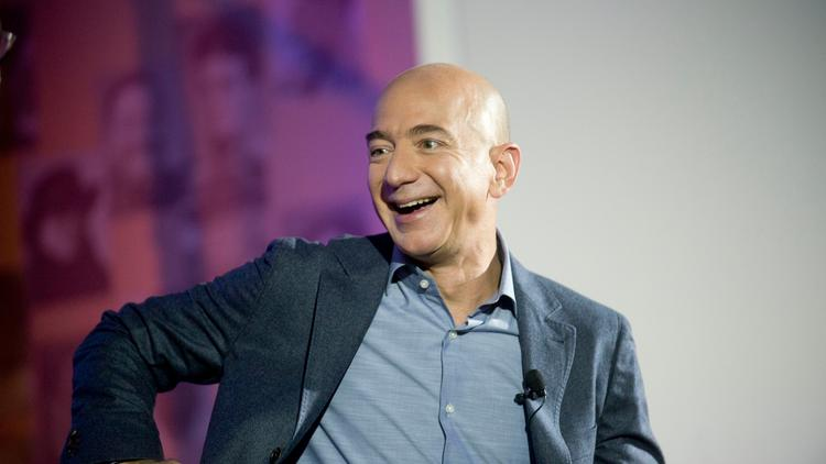 Amazon.com founder Jeff Bezos said during the annual shareholders' meeting Wednesday that his company isn't secretive, it's just quiet.