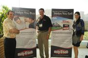 The Help-U-Sell team, from left, Richard Cricchio, Donald Diets and Debbie Young.