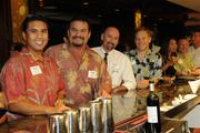 From left, Wynton Pascual , Eric Perez, Michael Garvey and Bryon Gibbens