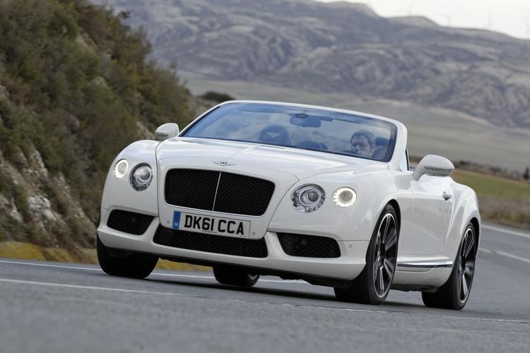 Take a drive in the new 231K Bentley Continental GTC V8 Video