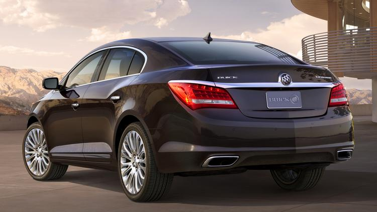 The Buick LaCrosse, which is manufactured in KCK, showed the highest percentage July sales increase among area-made cars, jumping 13.8 percent from a year ago.