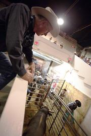 Joe Lowery of Marysville, Santiago's owner, said the bull can earn $500 to $1,000 per appearance on the PBR tour, with only the best-performing bulls moving on to the championships.